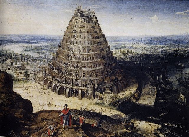 Torre de Babel. Crédito: https://commons.wikimedia.org/w/index.php?curid=4126824.